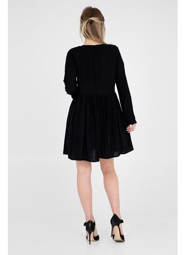 Busem Elbise Siyah